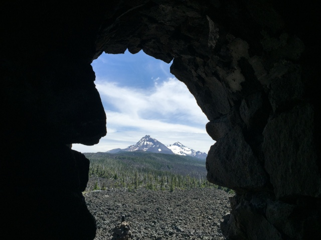 Lava Field Window